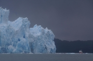 Glacier, Chile, by Mr & Mrs Paren
